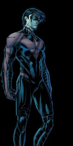 Nightwing (Dick Grayson) is a fictional character, a superhero in the DC Comics
