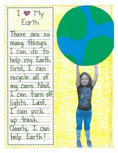 Cute Earth Day activity