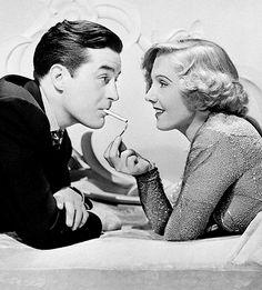 martinatra: Ray Milland & Jean Arthur for Easy Living (1937)