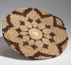Africa   Basketry tray from the Ovambo (Ambo) people of Grootfontein, Namibia   Plant fiber   ca. 1954.