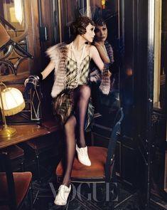 Community Post: Vogue Korea Is Bringing Flappers Back