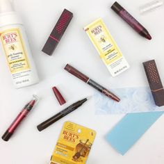 New Burt's Bees goodies for me to try out. Have you tried any of these lip and skin delights? . . . . . . gifted