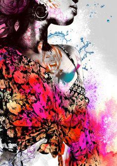 The Art of Gabriel Moreno Murals Street Art, 3d Street Art, Gabriel, Illustration Girl, Illustration Artists, But Is It Art, Spanish Artists, A Level Art, Portraits