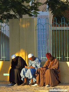 Studying the Quran outside the Grand Mosque of Saint-Louis, Senegal   Madnomad