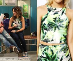 Austin & Ally: Season 4 Episode 7 Ally's Palm Tree Crop Top