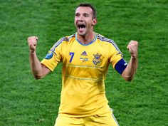 Ukrainian talisman Andriy Shevchenko is the hero as his brace secures the co-hosts a 2-1 win over Sweden and top spot in group D.