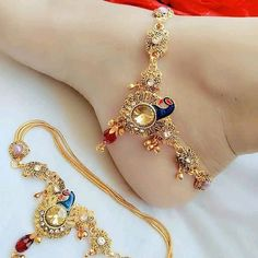 New Jewellery Design, Ankle Jewelry, Oxidised Jewellery, Anklets, Special Occasion, Celebrities, Festivals, Bracelets, Instagram Posts