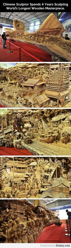Chinese Sculptor Spends 4 Years Sculpting