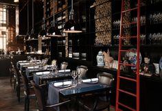 Gli interni del Ristorante Taiko di Amsterdam, disegnati da Piero Lissoni, riflettono perfettamente la cucina di Schilo van Coevorden, contemporanea con echi orientale