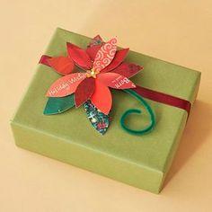 Christmas Card Poinsettia