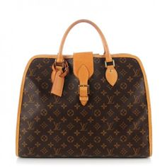 This is an authentic LOUIS VUITTON Monogram Rivoli Soft Briefcase. This stylish briefcase is crafted of classic Louis Vuitton monogram on toile canvas.
