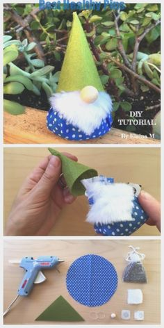 DIY Scented Christmas Gnome Kostenlose Schnittmuster & Tutorial #christmas #gnome #kostenlose #scented #schnittmuster #tutorial #WeihnachtenDiy