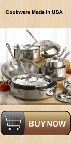 All-Clad Stainless Steel Bonded Cookware Set Real Food Recipes, Cooking Recipes, Cooking Tools, Best Pans For Cooking, Cooking Utensils, Cooking Classes, Kitchen Utensils, Cookware Set, Kitchen Hacks