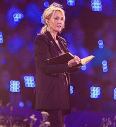 Harry Potter author J.K. Rowling takes part in the opening ceremony of the London 2012 Olympic Games on July 27, 2012 at the Olympic Stadium in London.