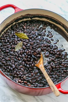 Learn how to cook beans. It's easy and they store beautifully in the freezer. Home cooked beans can be used for any recipe that calls for canned beans.