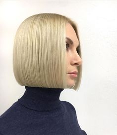We've rounded up some gorgeous bob hairstyles. Hope you find one that inspires your next hair cut. Medium Hair Cuts, Short Hair Cuts, Medium Hair Styles, Short Hair Styles, One Length Haircuts, One Length Bobs, Choppy Bob Hairstyles, Short Bob Haircuts, Hair Brained