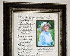 Celebrating the Special Moments in Your Life by PhotoFrameOriginals Personalized In Memory Of Memorial Frame Remembrance<br> Thank You Gift For Parents, Wedding Thank You Gifts, Wedding Gifts For Parents, Mother Of The Groom Gifts, Mother In Law Gifts, Sympathy Poems, Sympathy Gifts, Condolence Gift, T-shirt Refashion