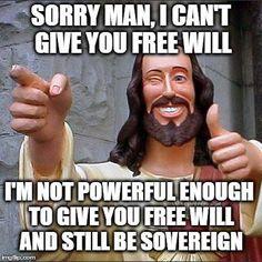 Jesus is sorry