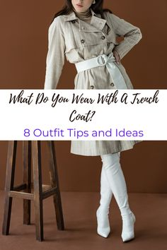 Trench Coats are classic pieces! If you want to know what you can wear with a trench coat? I have 8 examples right here, so check it out! Trench Coat Outfit, Trench Coat Style, Trench Coats, Suit Fashion, Daily Fashion, Business Casual Men, Mens Clothing Styles, Clothes For Women, How To Wear