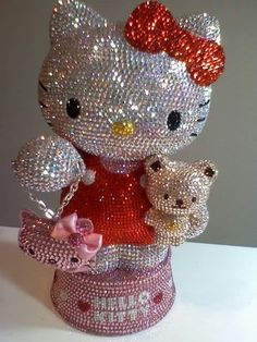 Hello Kitty swarovski. 2 of my favorite things!