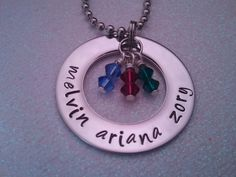 Personalized Mothers Day Necklace Hand Stamped by preciouscharms, $19.00