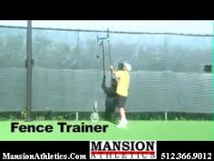 http://www.mansionathletics.com – Our newly re-designed Fence Trainer is the only suspended-ball serving training aid in tennis! The Fence Trainer is simply the … source       ...Read More