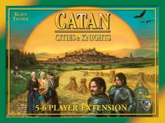 Catan: Cities and Knights 5-6 Player Extension (835769018917) This extension requires the Settlers of Catan game and the Cities and Knights of Catan expansion. Adds depth and complexity Allows for 2 more players to play Compatible with all other expansions as long as the base game is used Full Color Rules Book