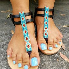 Nice Toes, Pretty Toes, Blue Pedicure, Long Toenails, Tan Body, Beautiful Toes, Ankle Strap Shoes, Sexy Toes, Female Feet