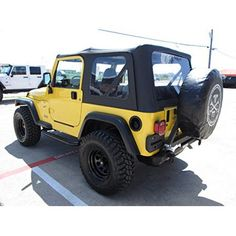 Fits Jeep Wrangler Swing Away Tire Carrier Steel Bumper Color: Multicolor. Jeep Wrangler Tj, Yellow Jeep Wrangler, Jeep Tj, Nitro Circus, Triumph Motorcycles, Monster Energy, My Dream Car, Dream Cars, Ducati