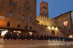 Ducati Monster 821 launch party scene