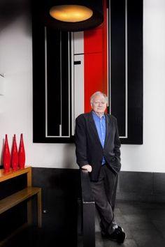 Ulrich Beck durante su entrevista con El País (16 enero 2013) en el Hotel Jazz de Barcelona.