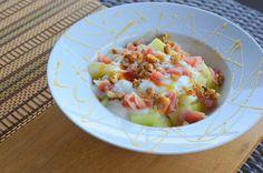 Salada de Meloa e Presunto - Receita - Be & Me Cuisine