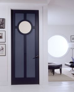 Art deco interior door, reinventing yourself as a building