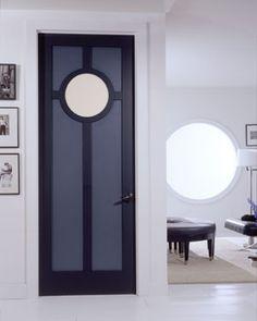 Art deco interior door, reinventing yourself as a building