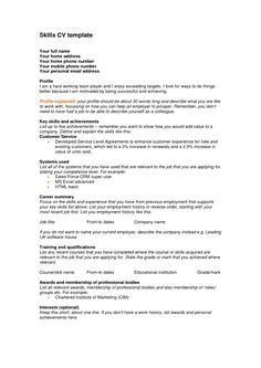 personal qualifications resumes thevillas co