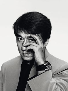 """Jackie Chan. """"I don't want to be an action star, an action star's life is so short. I want my life to get longer, I want my career to get longer."""""""