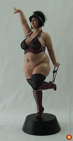 Burlesque - авторская коллекционная кукла. МегаГрад - online выставка-продажа авторской ручной работы