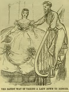 The Art of Human Finery – Quentin Bell, Virginia Woolfs nephew and one-time collaborator, on what conspicuous outrage and the aberrations of fashion teach us about human morality. Victorian Era, Victorian Fashion, Vintage Fashion, Pioneer Girl, 19th Century Fashion, 18th Century, Cartoon Cartoon, Second Empire, Horse Hair