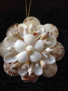 Shell Mirror Ornament