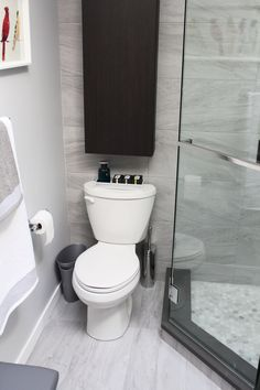 """Beautiful Bathroom Renovation Project Featuring 12"""" x 24"""" Porcelain Tiles, Spacious Neo Angle Shower With 1"""" x 1"""" Hex Mosaic Base Tiles, Custom Vanity With Caeserstone Vanity Top, Framed Mirror, Custom Frameless Shower Glass, Freestanding Tub, And Floor Ditra-Heat By Schluter Systems."""