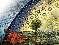 Universum Postcards - The Flammarion engraving is a wood engraving by an unknown artist, so named because its first documented appearance is in Camille Flammarion's 1888 book L'atmosphère: météorologie populaire (thanks Wikipedia! Nicolas Flamel, Red Books, Carl Sagan, Flat Earth, Carl Jung, Sacred Geometry, Geometry Art, Oeuvre D'art, Magick