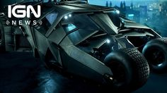 September's Batman: Arkham Knight DLC Includes Dark Knight Tumbler - IGN News