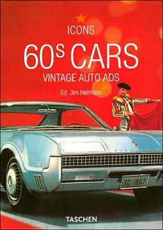 60s cars..., Taschen, book cover