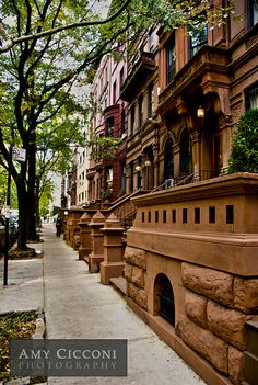 Brownstones, New York City