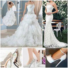 Elegant-Sweetheart-Wedding-Dress,love? #BridalDress #BridalGown #Shoes #Heels #Fashion #NewFashion