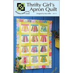Thrifty Girl's Apron Quilt Pattern By Brookshier Design Studio , Novelty | Quilterswarehouse