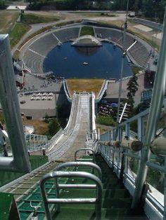 Holmenkollen Ski Jump, Oslo, Norway Want to zip wire to the bottom!!