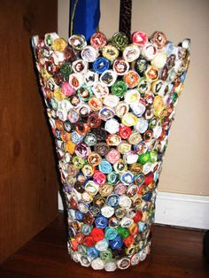 Paper Vase/Basket? Pics! - HOME SWEET HOME