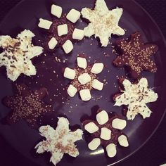 Snowflake brownies. A spin on this months #foodstirs kit. Can't wait to have everyone try this out! @foodstirs #food #bakingchronicles #merrychristmas #happyholidays