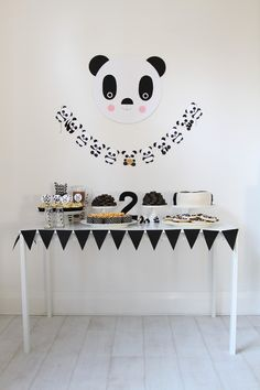 Panda Party!     One of Stella's favourite things is her cuddly panda, so I decided it would make a lovely theme for her second birthday! ...